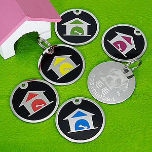 狗狗名牌客製-狗屋-Enamel-Steel-Pet-ID-Tag-Round-DogHouse-Large-FulgorJewel-Large.jpg