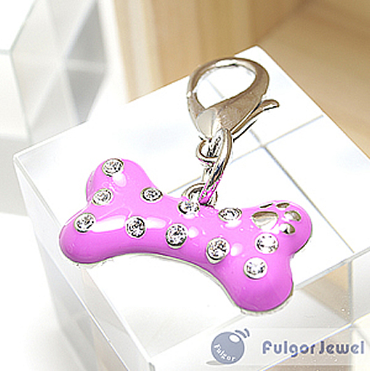 FulgorJewel-Pet-Charm-Bone-With-Crystal